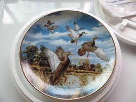 Abrupt Departure On the wing David Maass,plate No.M8771 the Danbury Mint... - $23.75