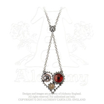 Coeur du Moteur Necklace by Alchemy Gothic - $54.40