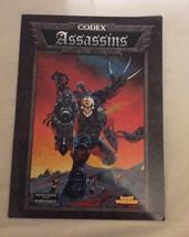 Codex Assassins Warhammer 40000 Supplement Games Workshop - $7.00