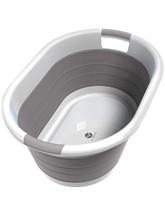 Vremi Collapsible Plastic Laundry Basket - Large Folding Pop Up Laundry ... - $36.75