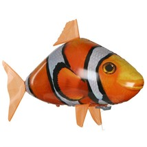 Remote Control Inflatable Clown Fish Toy Ball(SANDY BROWN) - $20.21