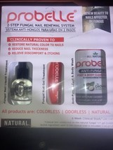 Probelle 2-Step Fungal Nail Renewal System For Fingernail and Toenail Fu... - $38.36