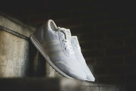 ADIDAS LOS ANGELES Triple White Size 8 NEW in Box S42021 - $222.75