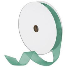"7/8"" Plain Sheer Organza Nylon Ribbon 25 Yards - Mint Green - $3.47"