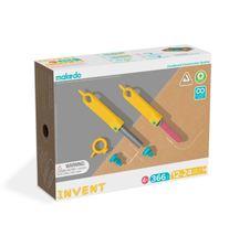MAKEDO INVENT JNR - Cardboard Construction Large Toolbox Kit for Kids Ages 4+ - $142.99