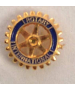 Vintage Rotary International Tie Tac Lapel Pin - $19.99