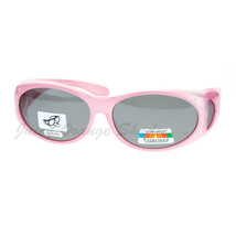 Womens Polarized Fit Over Glasses Sunglasses Oval Rhinestone Frame - $18.25 CAD