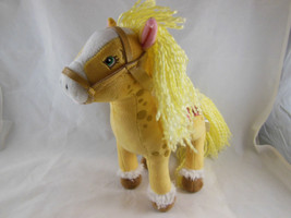 "Ban Dai Strawberry Shortcake 10"" Honey Pie Pony Plush 2004 Horse - $13.26"