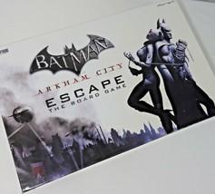Batman Arkham City Escape Board Game Open Box DC Comics Cryptozoic Complete - $98.95