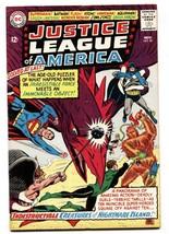 JUSTICE LEAGUE OF AMERICA #40 1965-DC COMICS PENGUIN  FN+ - $49.66