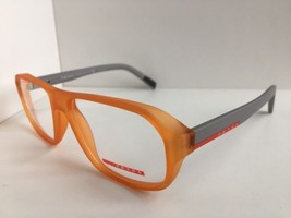 New Prada Sport Vps 05G VPS05G UFL-1O1 Orange 55mm Eyeglasses Frame Italy - $134.99