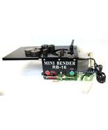 RB16 Mini Tabletop 1200W Electric Hydraulic Rebar Bender 16mm Rebar Rod ... - $940.49