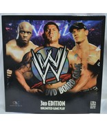 WWE DVD Board Game 3rd Edition Unlimited Game Play Complete in Box Excel... - $22.80