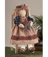 Primitive Doll  41400- Americana Doll w/star - $18.95