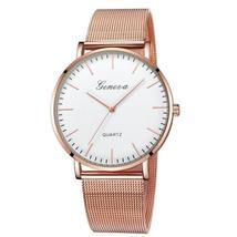 GENEVA Watches Womens 2018 New Brand Classic Quartz Stainless Steel Wrist Watch  - $16.48