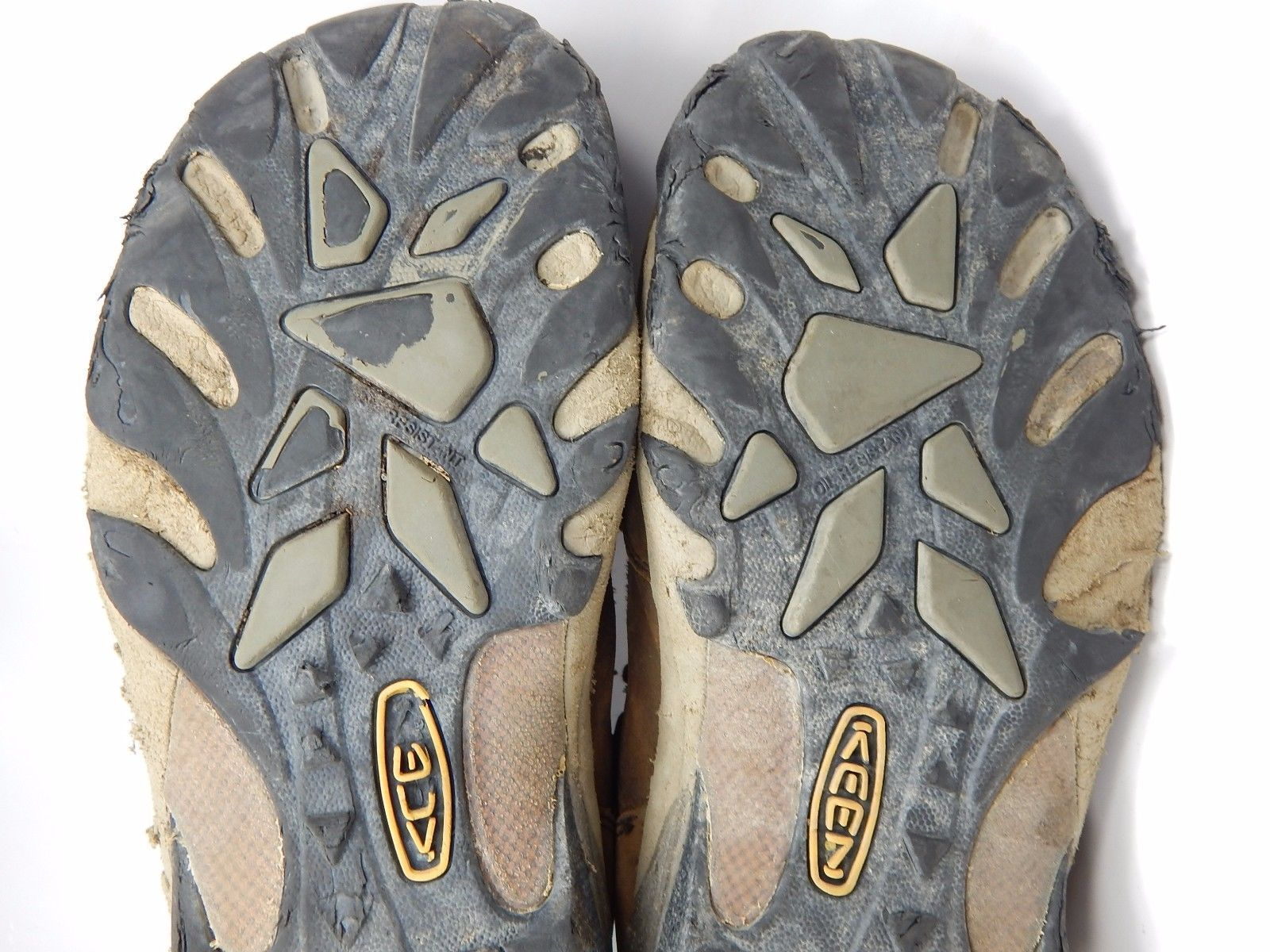 Keen Detroit Mid Top Men's Soft Toe Work Boots Shoes Sz US 9.5 M (D) EU 42.5