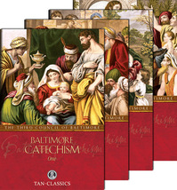 Baltimore Catechism (Complete Set of 4) by The Third Council of Baltimore