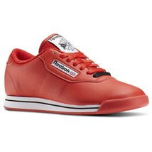 Reebok Princess Red J95025 Leather Women shoes - $49.95