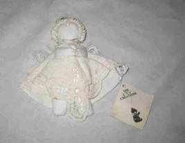"Neat 6"" Primitive Country CHRISTMAS Cloth ANGEL Ornament - $18.59"