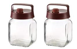 ie.corea Super Glass Breathing Glass Food Storage Container with Lid 1L 1Quart (