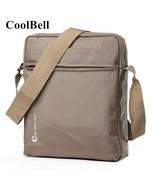 COOLBELL® Messenger Bag Ipad Nylon Bags Chest Bags Fashion Bag Waterproo... - $39.82
