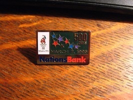 NationsBank Olympic Pin - Vintage 1995 Atlanta Georgia USA Summer Olympi... - $24.74