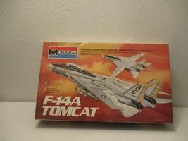 Vintage 1981 Monogram F-14-A Tomcat1/48 Scale Airplane Model Kit open Box - $44.54