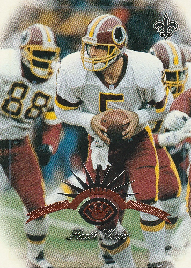 Primary image for 1997 Leaf #32 Heath Shuler