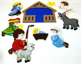 Magnetic Christmas Nativity Set - 11 Piece - $15.88