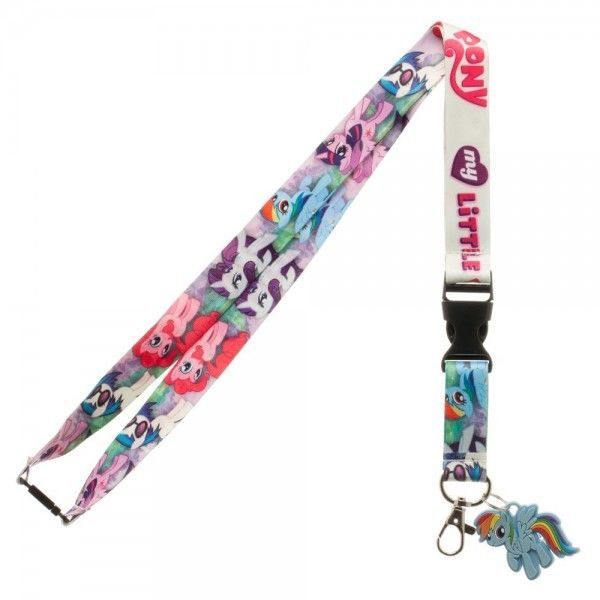My Little Pony ID Badge Holder Keychain Lanyard