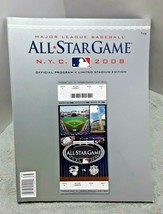 2008 Major League Baseball All Star Game Program Yankees Stadium Limited ED - $17.81