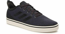 Neuf pour Homme Adidas Vrai Glacial Skateboard Noir/Blanc Basket Athlétique - $42.94