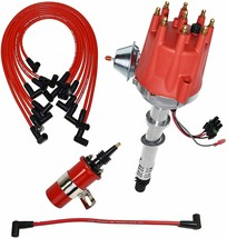 Chevy GMC SB BB Pro Series R2R Distributor 327 350 396 454 8mm Spark Plug Kit