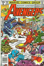 AVENGERS #182 VF-/VF Marvel Comics 1979 Scarlet Witch/Quicksilver Byrne/... - $14.85