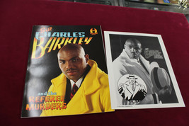Charles Barkley SIGNED Referee Murders Comic Book 32/99 W Stamp Sheet 76ers - £222.55 GBP