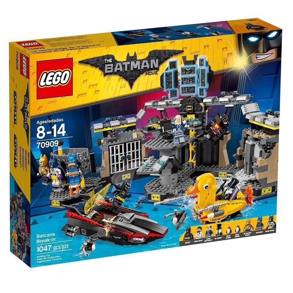Lego 70909 Batman Movie Batcave Break-In [New] Building Set
