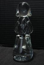 Praying Angel, Solid  Art Glass, Vintage Hand-Blown Christmas Figurine, 1980s - $9.99