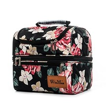 WinMax Lunchbox with Shoulder Strap for Adults Double-deck Lunch Bag Insulated C - $22.67