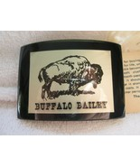 Buffalo Bailey lucite buckle, Great Texas Buckle Co, new in original pac... - $30.00