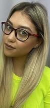 New LIU JO LJ 2631 LJ2631 604 Burgundy 52mm Rx Women's Eyeglasses Frame  - $99.99