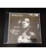 "Natalie Cole ""Unforgettable With Love"" CD 1991 M & A Group (Russian Import) - $9.50"