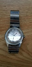 Vintage Timex stainless steel Hand Wind Mens Date Watch 1979 27718 10579 *as is* - $75.23