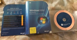Ms Windows Vista Business 32 Bit DVD Microsoft Ms Produkt Schlüssel DVD - $10.79