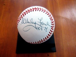 WHITEY FORD HOF 74 NEW YORK YANKEES SIGNED AUTO VTG 1990 ALL-STAR BASEBA... - $247.49
