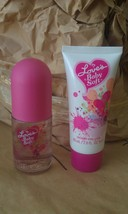 LOVE'S BABY SOFT DANA LOT SHIMMERY LOTION 2 oz~COLOGNE BODY SPRAY 1.5 oz... - $59.00
