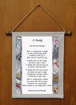 A Daddy - Personalized Wall Hanging (777-1) - $18.99