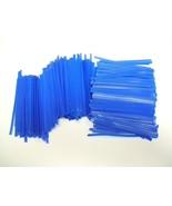 "2,000 Black 4/"" Plastic Twist Ties Reusable General Use ULINE S-566BL"