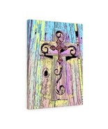 "Easter Cross Canvas 18"" x 24"" Gallery Wrapped Print by BL Lawson - $69.99"