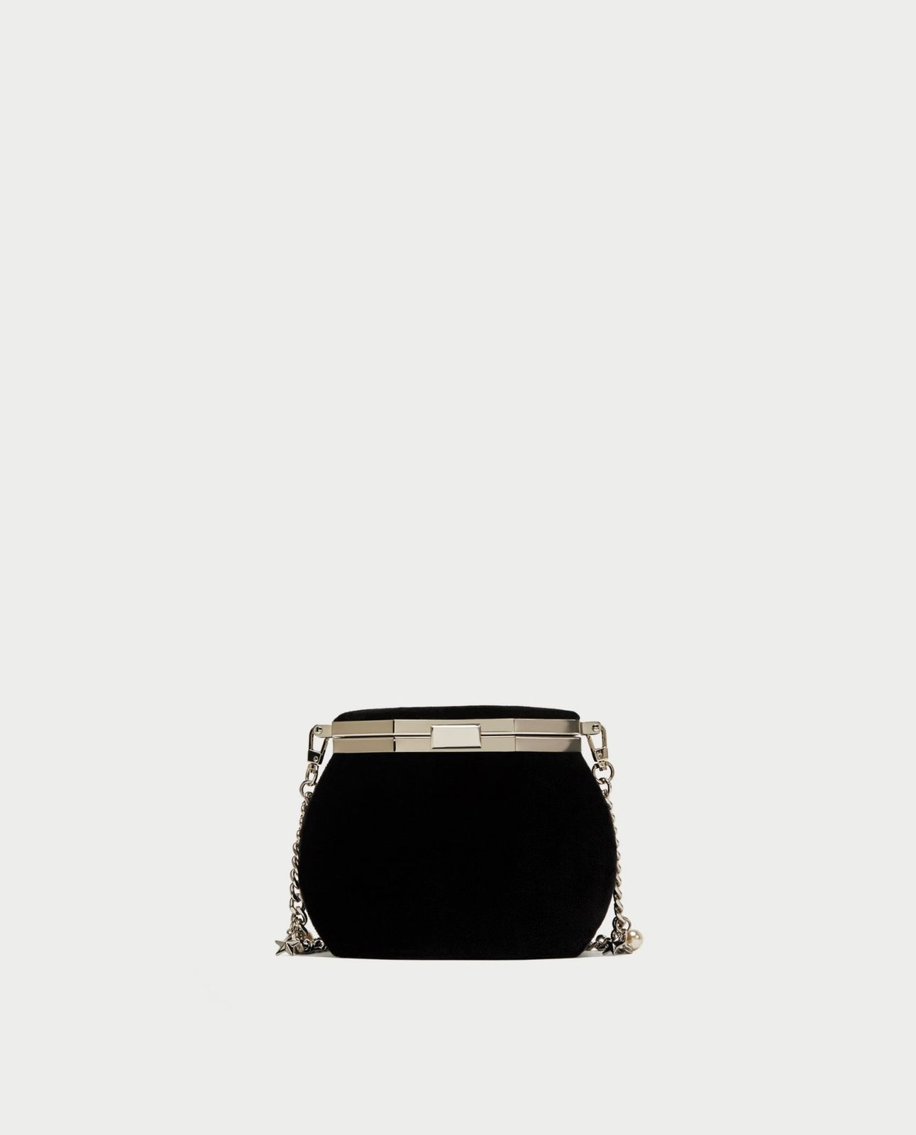 d81cc72e51 BNWT ZARA Black Crossbody Bag With Clasp And and 50 similar items
