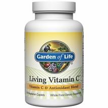 Garden of Life Non-GMO Vitamin C Supplement - Living Vitamin and Antioxidant ... - $21.25